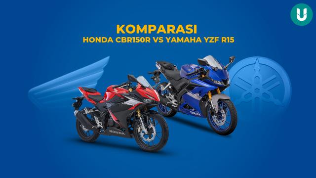 Adu Spek Honda CBR150R vs Yamaha YZF R15, Siapa Unggul?  (184373)