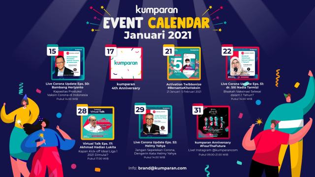 kumparan Event Calendar | Januari 2021 (40176)