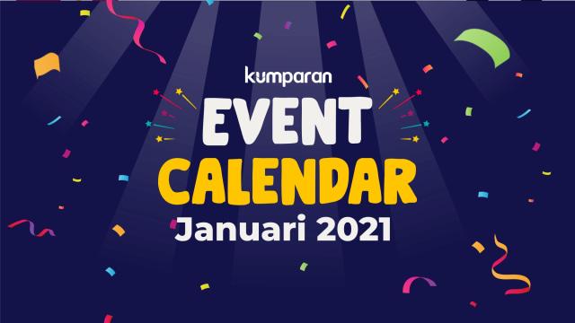 kumparan Event Calendar | Januari 2021 (40175)