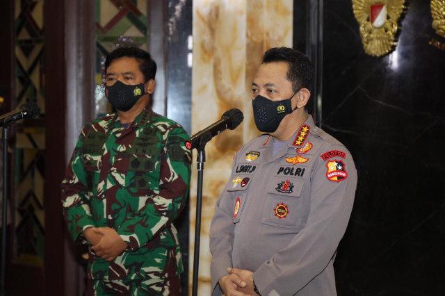 Kapolri Gelar Rapat dengan Kementerian dan Panglima TNI Bahas Larangan Mudik (465833)