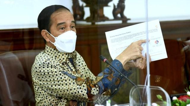 Surat Jokowi soal Peleburan Kemristek-Kemdikbud Rahasia, Dibahas Pimpinan Fraksi (93997)