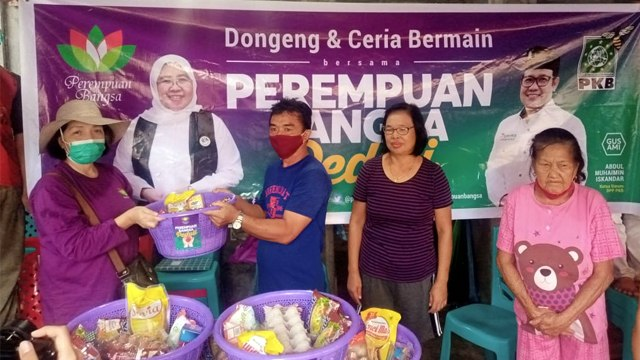 Perempuan Bangsa Salurkan Bahan Pangan untuk Korban Banjir Manado (259291)