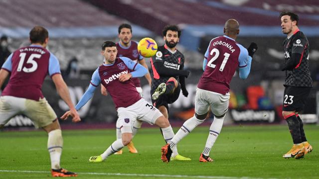 West Ham vs Liverpool: Mohamed Salah Bikin 2 Gol, Si Merah Kalahkan Tuan Rumah (251474)