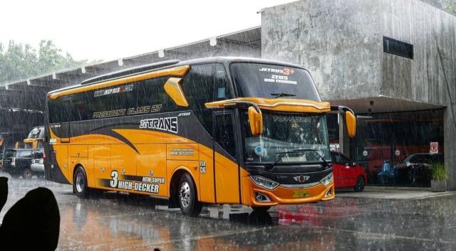 PO 27Trans, Bus AKAP Baru Asal Malang yang Tawarkan Fasilitas Mewah  (48466)