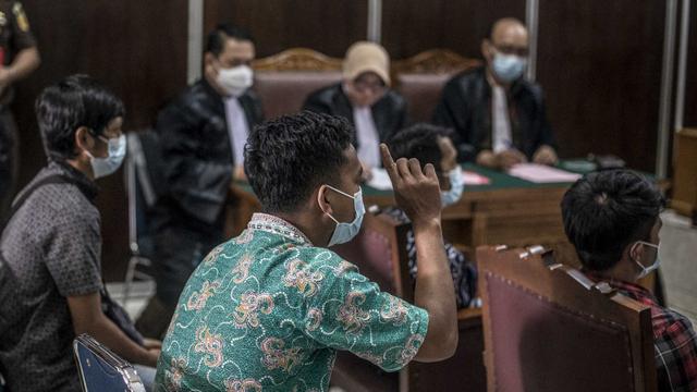 Kasus Kebakaran Kejagung, 5 Pekerja dan Mandor Dituntut 1 hingga 1,5 Tahun Bui (667)