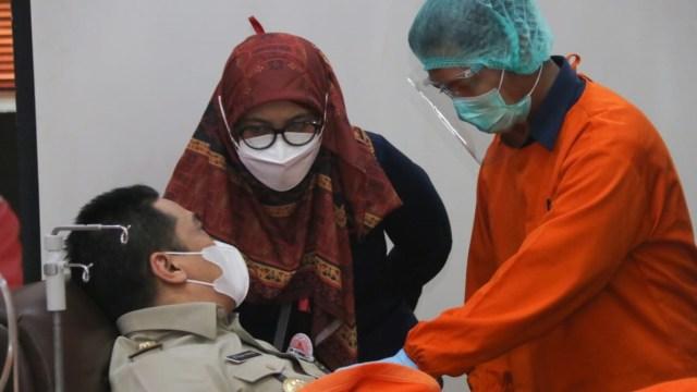 21.454 Orang Sembuh COVID-19 di Jakarta, yang Donor Plasma Baru 875 Orang (87371)