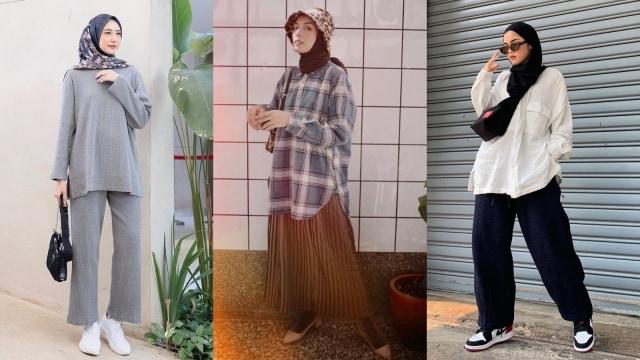 Ootd Hijab Casual Nan Stylish Ala 7 Selebgram Berhijab Kumparan Com