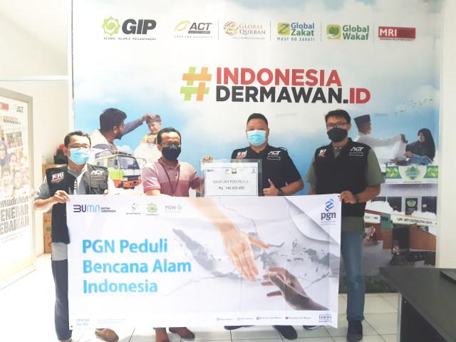 PGN Bersama ACT Salurkan Bantuan Untuk Korban Bencana Alam (108464)