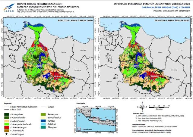LAPAN Ungkap Lewat Citra Satelit Fenomena di Titik Longsor di Sumedang (30543)