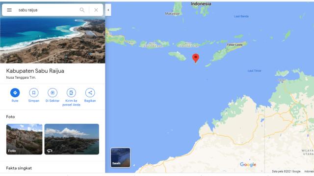 Profil Sabu Raijua, Wilayah Kepulauan di NTT yang Berbatasan dengan Australia (246644)