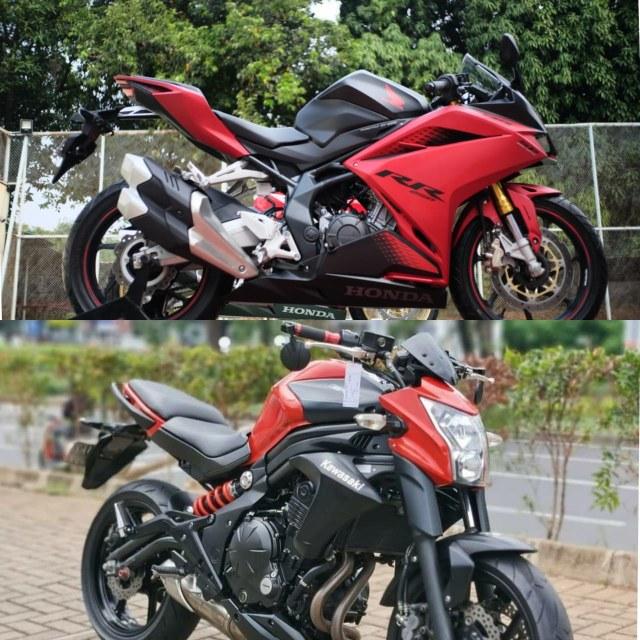 Punya Dana Rp 70 Jutaan, Pilih Honda CBR250RR QS Baru atau Kawasaki ER-6N Bekas? (98653)