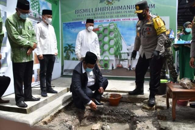 Peletakan Batu Pertama RS NU, Gubernur Kalteng: Ini Kontribusi untuk Kalteng (97145)