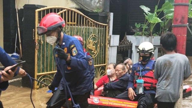 Wagub DKI Ungkap Penyebab Banjir di Pejaten Timur Lama Surut: Air dari Katulampa (71207)