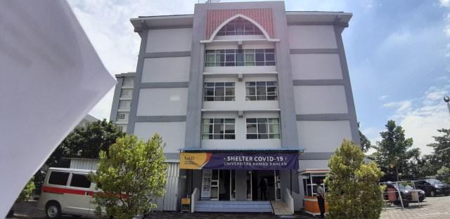 UAD Bangun Shelter untuk Pasien COVID-19 di Bantul (255675)
