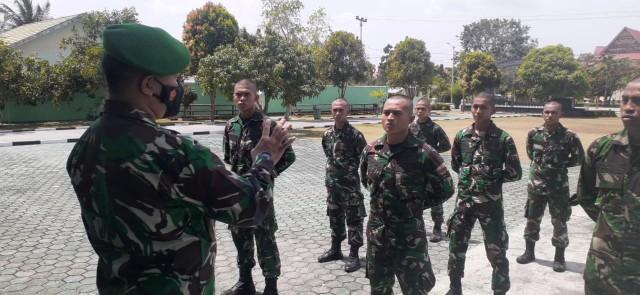 12 Prajurit TNI AD Taja Putera Daerah Perkuat Kodim 0317/TBK (62073)