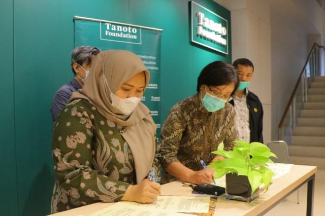 Tanoto Foundation-Muaro Jambi Resmikan Kerja Sama Pengembangan Sekolah Penggerak (781546)