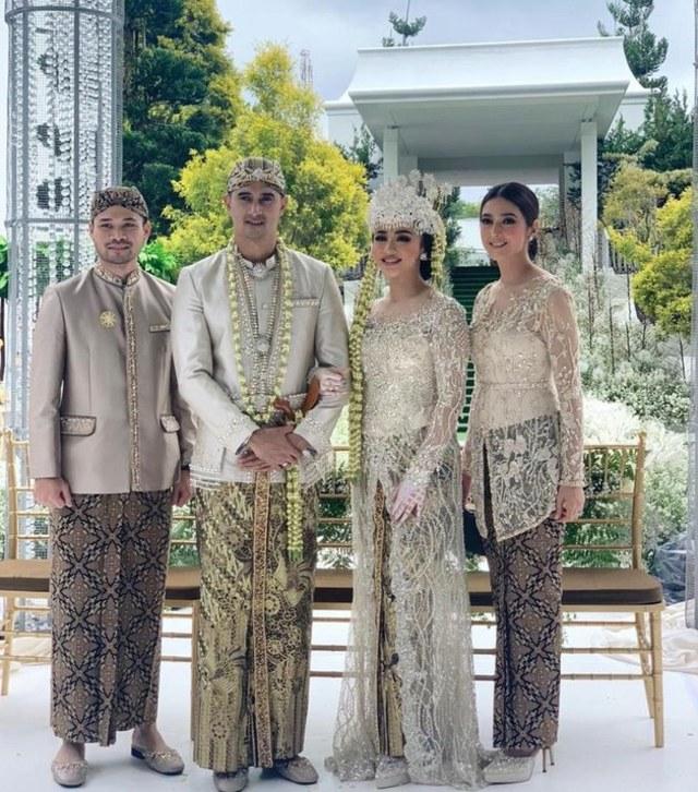 5 Pesona Nabila Syakieb di Acara Pernikahan Ali Syakieb dan Margin Wieheerm (90287)