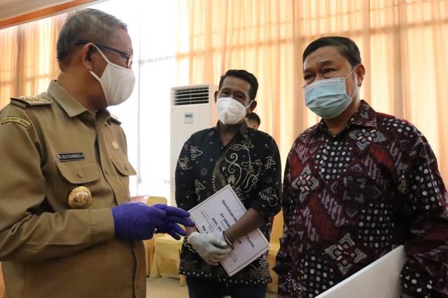 Sriwijaya Air Serahkan Santunan pada Ahli Waris Korban SJ 182 (383211)