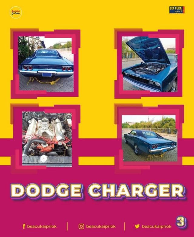Bea Cukai Tanjung Priok Lelang 2 Mobil Klasik, Ada Dodge Charger! (442578)