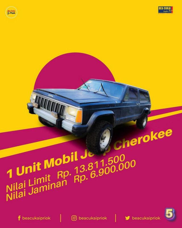 Bea Cukai Tanjung Priok Lelang 2 Mobil Klasik, Ada Dodge Charger! (442582)