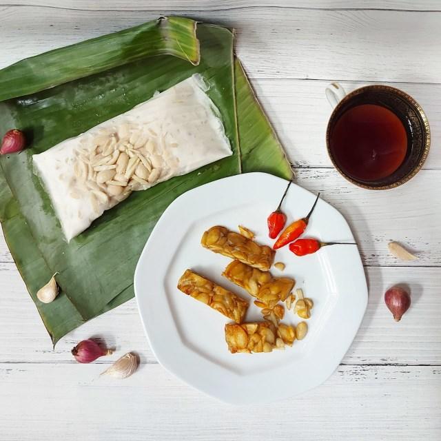 Mencoba Tempe Sultan Berbahan Kacang Almond, Harga Rp 65 Ribu per Papan! (155899)