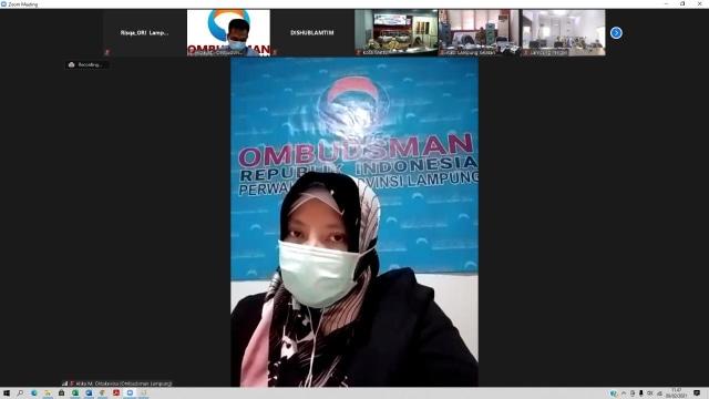 Jelang Penilaian Kepatuhan, Ombudsman Lampung Dorong Pemda Maksimalkan Website (1)