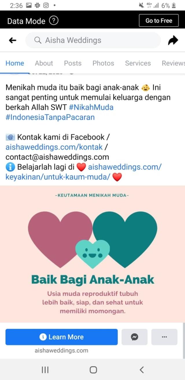 WO Aisha Weddings: Bentuk Kekerasan Anak; Diduga Settingan (44698)
