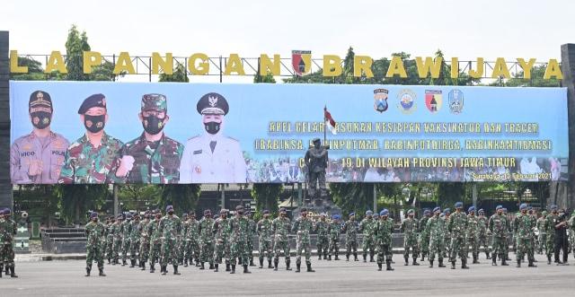 2.500 Prajurit Kodam V Brawijaya Siap Jadi Tracer COVID-19 ke Penjuru Jatim (42474)