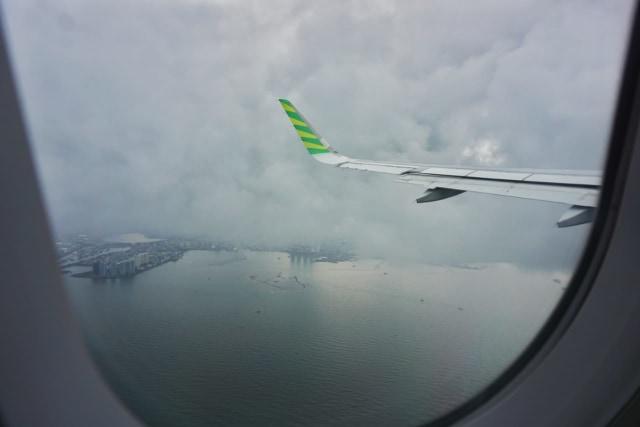 Pesawat Citilink Lakukan Go Around di Langit Lampung Diduga Akibat Cuaca Kabut (218323)