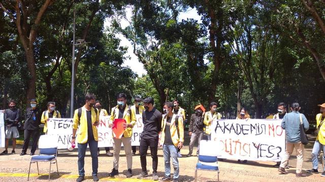BEM Unnes: Sikap Rektorat Respons Kritik Kami ke Ma'ruf dan Puan Berlebihan (985145)
