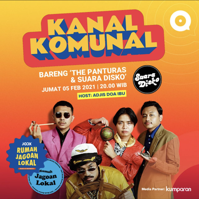 The Panturas Bicara Perkembangan Genre Surf Rock di Indonesia (102814)