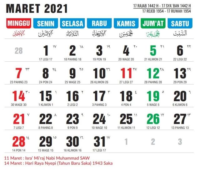 Download Kalender Nasional Dan Jawa 2021 - Rudy Arra ...