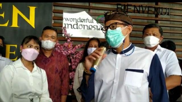 Sandiaga Kecewa Ada Penyelewengan Dana PEN Pariwisata di Buleleng, Bali (134233)