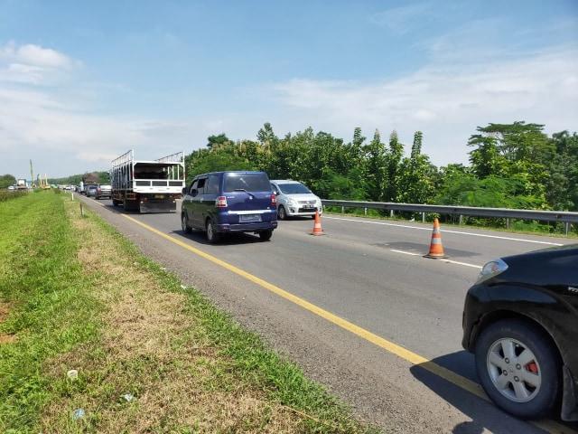 Proyek Jalan Sementara di Tol Cipali yang Amblas Ditargetkan Selesai 10 Hari  (32894)