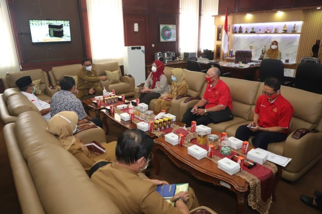 Wawalkot Malang Apresiasi Gerakan Seribu Labu Plasma Konvalesen (837389)