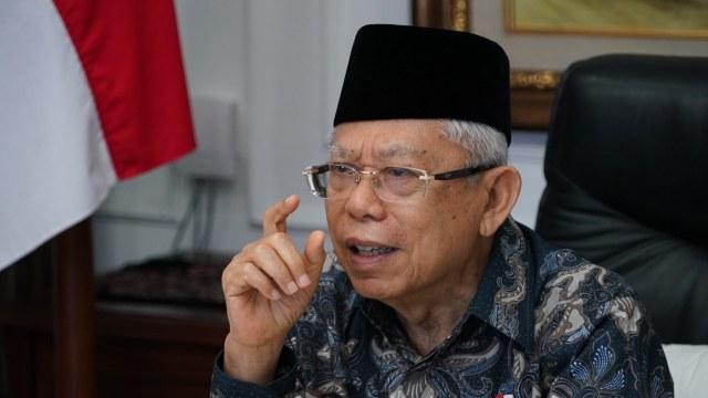 Wapres Ma'ruf Amin Soroti Rendahnya Literasi Keuangan Syariah di Indonesia (313840)