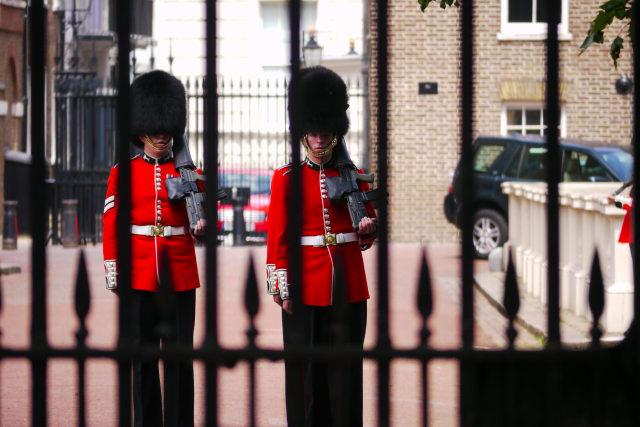 Ini Alasan Penjaga Istana Inggris Pakai Topi Bulu Hitam Tinggi (103012)