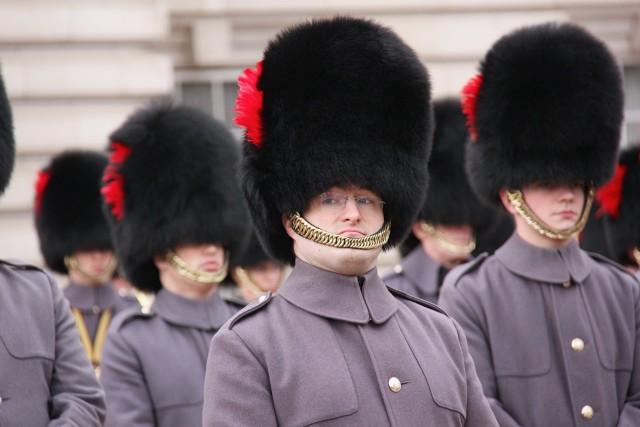 Ini Alasan Penjaga Istana Inggris Pakai Topi Bulu Hitam Tinggi (103013)