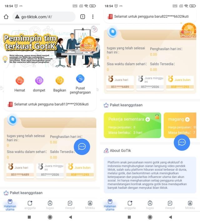 Kominfo Blokir Go TikTok, Situs Money Game Serupa TikTok Cash (590606)
