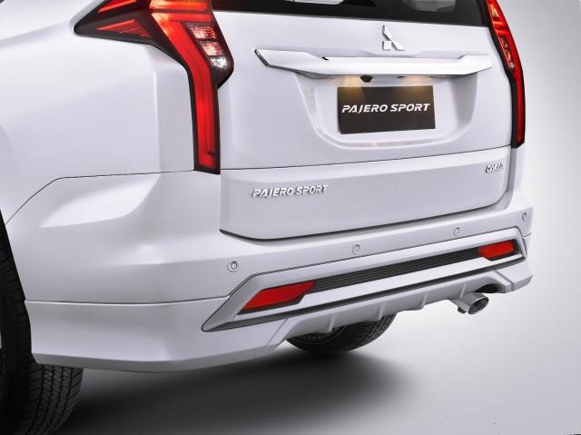 Pilihan Paket dan Harga Aksesoris Resmi Mitsubishi Pajero Sport Facelift (606345)