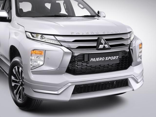 Pilihan Paket dan Harga Aksesoris Resmi Mitsubishi Pajero Sport Facelift (606346)