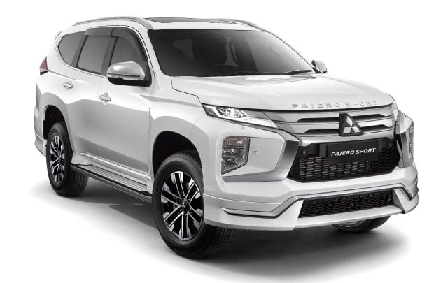 Pilihan Paket dan Harga Aksesoris Resmi Mitsubishi Pajero Sport Facelift (606339)