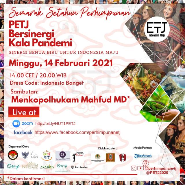 "Semarak Setahun Perhimpunan Eropa untuk Indonesia Maju ""Sinergi Kala Pandemi"" (87836)"