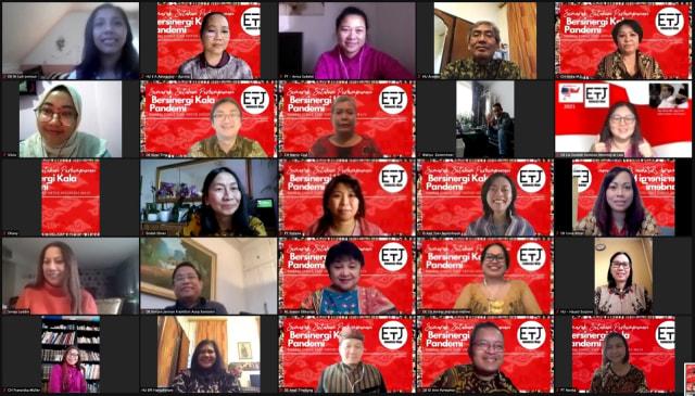 "Semarak Setahun Perhimpunan Eropa untuk Indonesia Maju ""Sinergi Kala Pandemi"" (87837)"