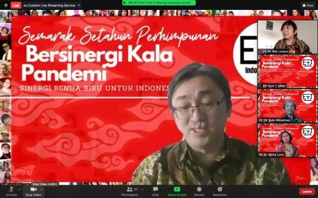 "Semarak Setahun Perhimpunan Eropa untuk Indonesia Maju ""Sinergi Kala Pandemi"" (87844)"