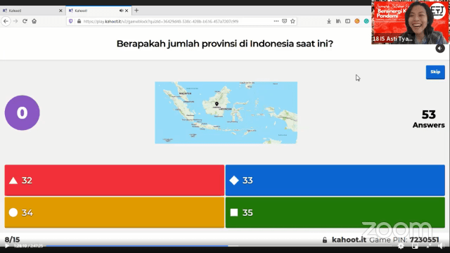"Semarak Setahun Perhimpunan Eropa untuk Indonesia Maju ""Sinergi Kala Pandemi"" (87854)"