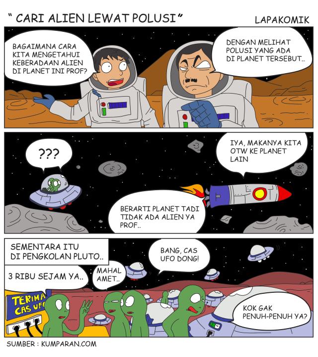 Komik: Cari Ufo Lewat Polusi (5970)