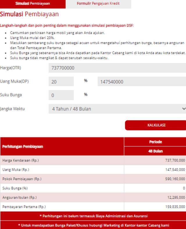 Skema Kredit Mitsubishi Pajero Sport Facelift 2021, Berapa Cicilan Bulanannya? (10583)