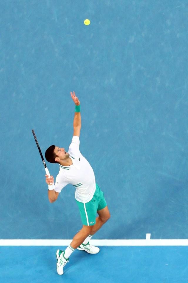 Australian Open 2021 Tumbangkan Karatsev Novak Djokovic Tatap Final Kumparan Com