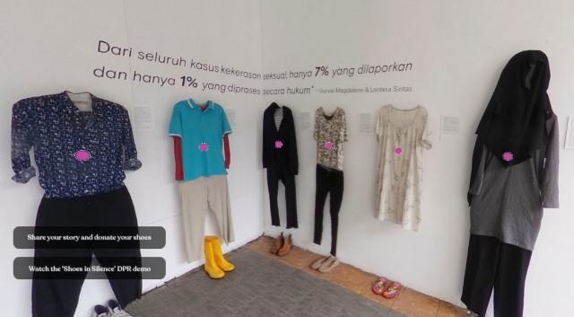 Menyaksikan Kisah Penyintas Kekerasan Seksual Lewat Instalasi Seni Virtual (56039)